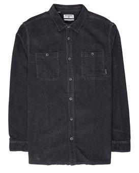 Wave Washed Corduroy Shirt  L1SH11BIF8