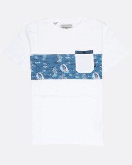 Boys Tribong Crew Jersey T-Shirt  L2JE02BIF8