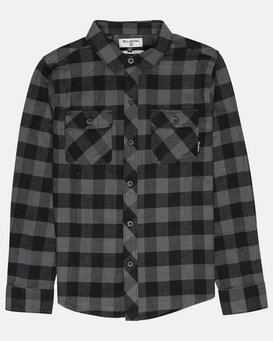 Boys All Day Flannel Shirt  L2SH01BIF8