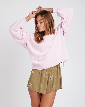 Hello Pretty Loose Fit Sweatshirt  L3FL02BIF8