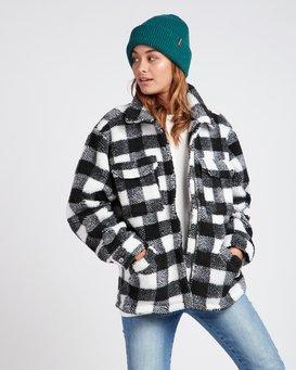 Pretty Wild Cozy Buffalo Plaid Jacket  L3JK09BIF8