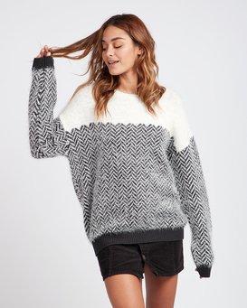Cold Escape Jacquard Sweater  L3JP02BIF8