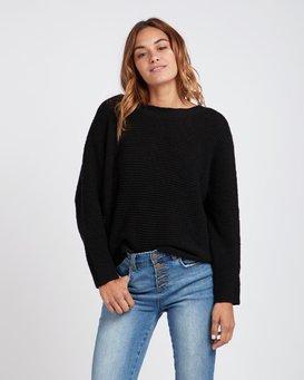 Backed Up Dolman Sleeves Sweater  L3JP08BIF8