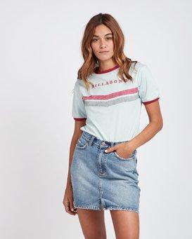 Ringer Retro Look T-Shirt  L3SS06BIF8
