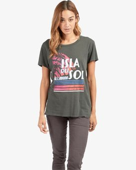 Isla Del Sol Overdyed Boy T-Shirt  L3SS16BIF8
