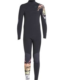 Boys 3/2 Furnace Carbon Comp Chest Zip Wetsuit  L43B03BIF8