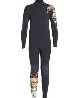 Boys 3/2 Furnace Carbon Comp Chest Zip Wetsuit  L43B03BIF8