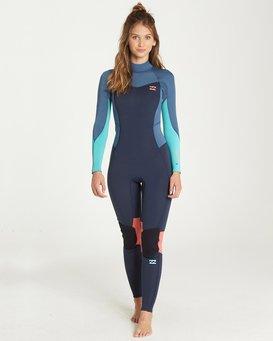 3/2 Furnace Synergy Back Zip Gbs Fullsuit Wetsuit  L43G04BIF8