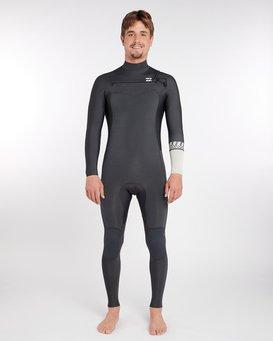 3/2 Furnace Revolution Chest Zip Long Sleeves Wetsuit  L43M06BIF8