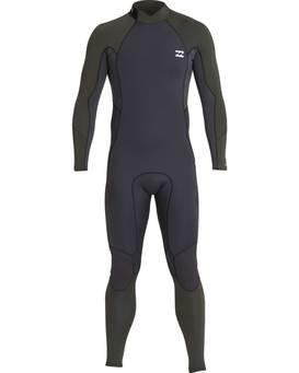 3/2 Furnace Absolute Back Zip Gbs Wetsuit  L43M10BIF8