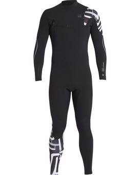 3/2 Furnace Carbon Chest Zip Gbs Wetsuit  L43M26BIF8