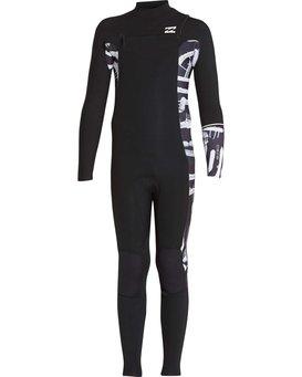 4/3 Boys Furnace Revolution Chest Zip Wetsuit  L44B04BIF8