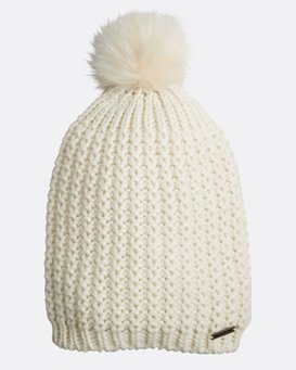 Cold Forest Pompom Beanie  L9BN02BIF8