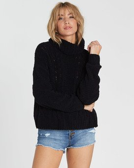 On A Roll Chenille Sweater  M3JP02BIW8