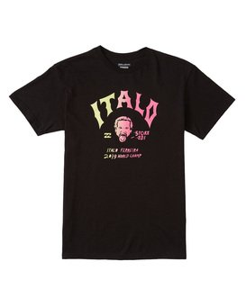 ITALO WORLD TITLE TEE  M4601BIW