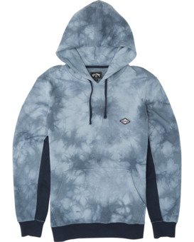 WAVE WASHED PULLOVER  M6401BWP