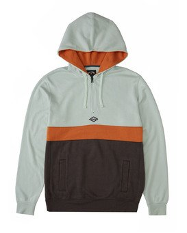 WAVE WASHED HALF ZIP  M640VBWH