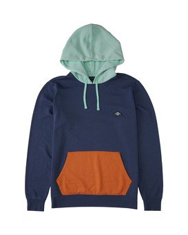 WAVE WASHED PULLOVER  M640VBWP