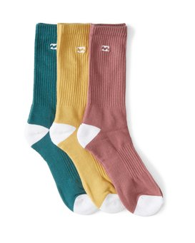 WAVE WASHED SOCKS 3 PACK  MASOWBVE