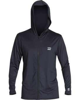 ALL DAY WAVE LF LS ZIP HOODIE  MR701BAL