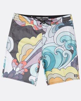 "Sundays Lo Tides 18"" Boardshorts  N1BS21BIP9"
