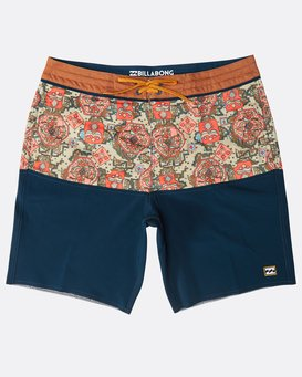 "Fifty50 Lo Tides 18"" Boardshorts  N1BS25BIP9"