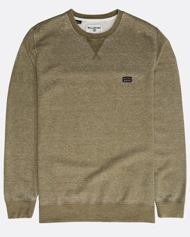 All Day Washed Crew Sweatshirt  N1FL02BIP9
