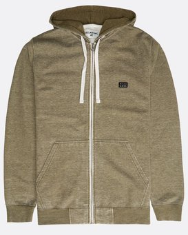 All Day Washed Zip Hoodie  N1FL10BIP9