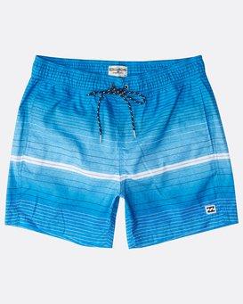 "All Day Stripes Laybacks 16"" Boardshorts  N1LB06BIP9"