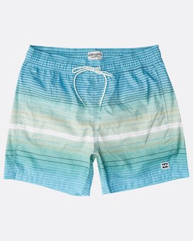 "All Day Stripes Laybacks 16"" Boardshorts  N1LB06BIP9"