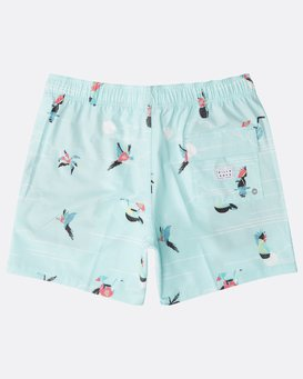 "Sunday Stretch Laybacks 16"" Boardshorts  N1LB09BIP9"