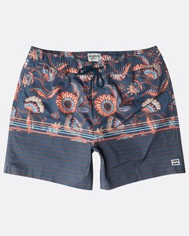 "Spinner Stretch Laybacks 16"" Boardshorts  N1LB16BIP9"