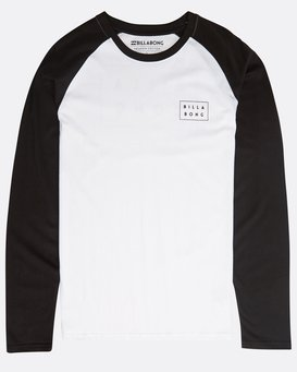 Die Cut Long Sleeve T-Shirt  N1LS01BIP9
