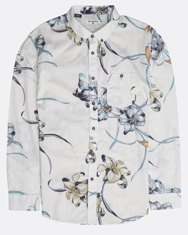 Sundays Floral Long Sleeve Shirt  N1SH13BIP9