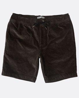 Larry Layback Corduroy Shorts  N1WK18BIP9