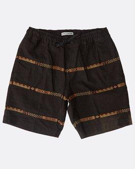 Larry Layback Jacquard Shorts  N1WK27BIP9