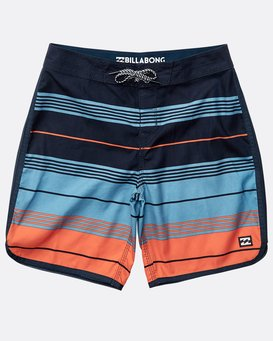 Boys' 73 Stripe Originals Boardshorts  N2BS07BIP9