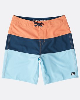 Boys' Tribong Pro Solid Boardshorts  N2BS12BIP9