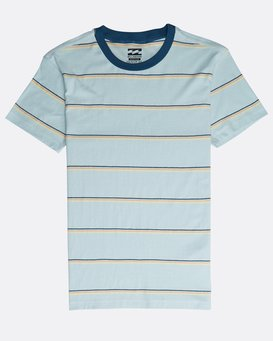 Boys' Die Cut Stripe T-Shirt  N2JE04BIP9