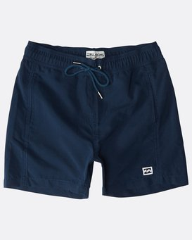 Boys' All Day Layback Boardshorts  N2LB01BIP9