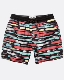 Boys' Sunday Layback Boardshorts  N2LB03BIP9