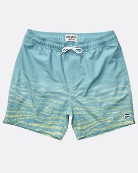 Boys' Fifty 50 Stretch Layback Boardshorts  N2LB06BIP9