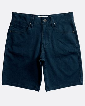 Boys' 5 Pockets Outsider Shorts  N2WK09BIP9