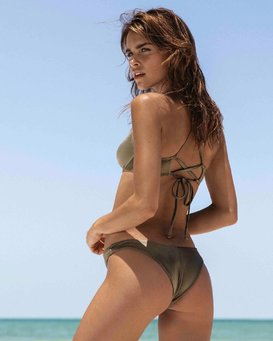Sol Searcher Tanga Bikini Bottoms  N3SB04BIP9