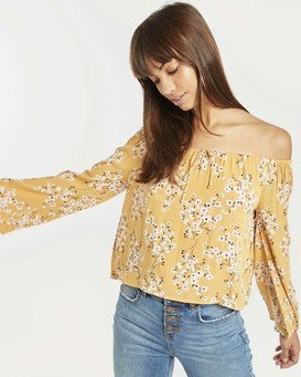 Light It Up Off-The-Shoulder Top  N3TP01BIP9