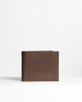 Die Cut - Leather Wallet for Men  N5WM11BIP9