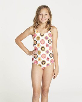 Girls' Ole Souliel One Piece Swimsuit  N8SW03BIP9