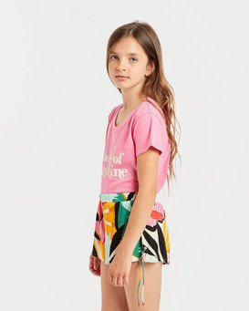 Girls' Criss Cross Promise Shorts  N8WK01BIP9