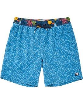 "Sundays Layback 16"" Boardshorts  P1LB02BIS9"