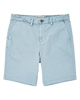 New Order Wave Wash Shorts  P1WK04BIS9